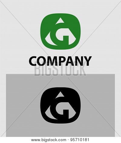 Letter G logo icon design template elements - vector sign
