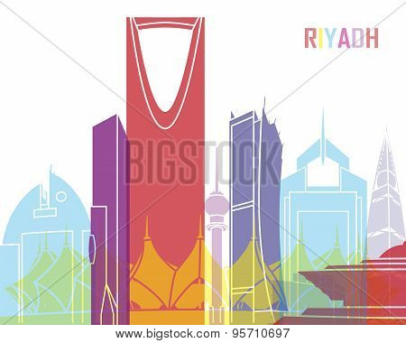 Riyadh Skyline Pop