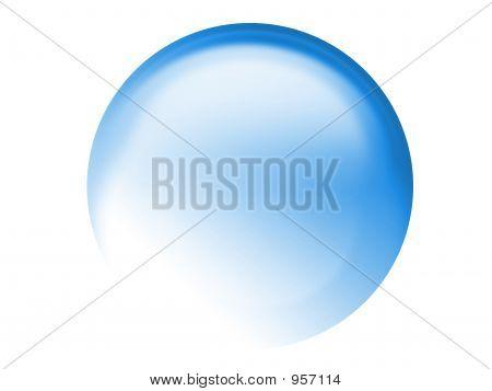 Aqua Orb Button