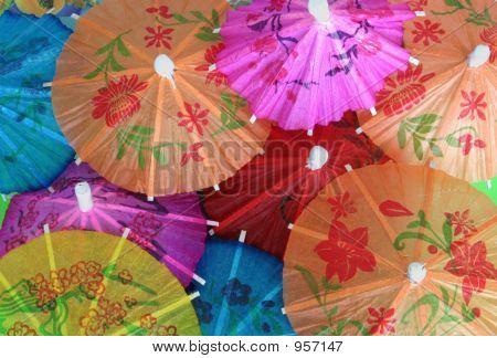 Asian Cocktail Umbrellas 3
