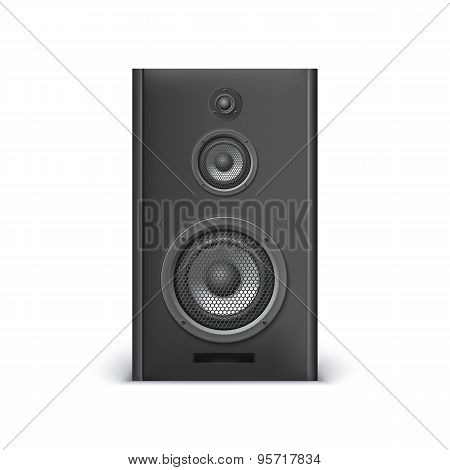 Black sound speaker