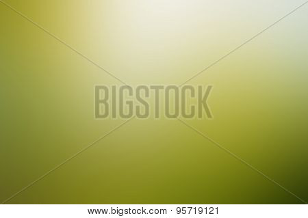 Green-shaded Blurred Background