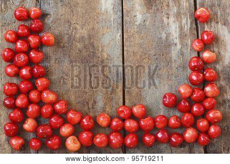 Cherry Wood Frame
