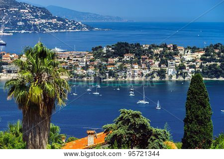 Summer Day In Nice, France, Cote D'azur.