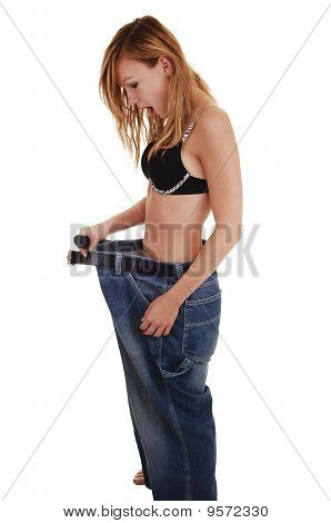 Girl Lost Lots Weight.