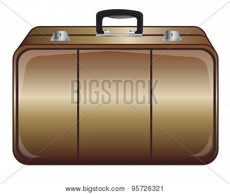 Gray valise