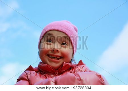 Happy Family Moments - Young Girl Having Fun