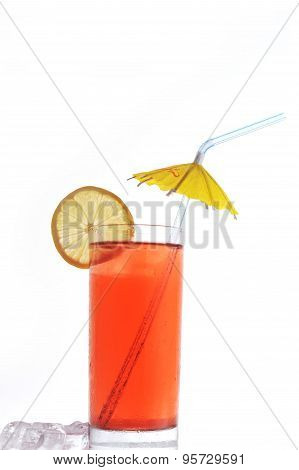 Glass With  Drink