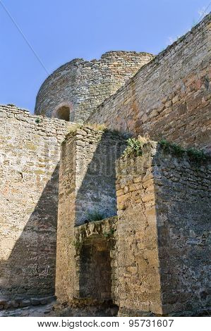 old fortress in Belgorod-Dniester