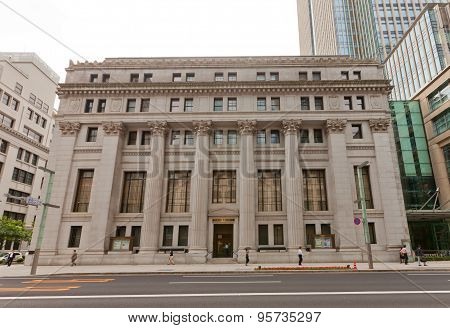 Mitsui Bank And Trust Building In Tokyo, Japan