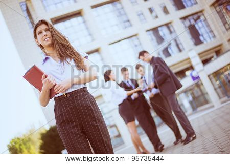 Businesswoman With Planner