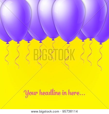 Abstract Creative concept  vector balloon isolated on background for Web and Mobile Applications, Il