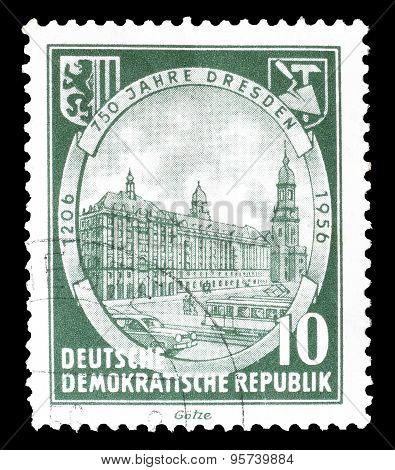German Democratic Republic 1956