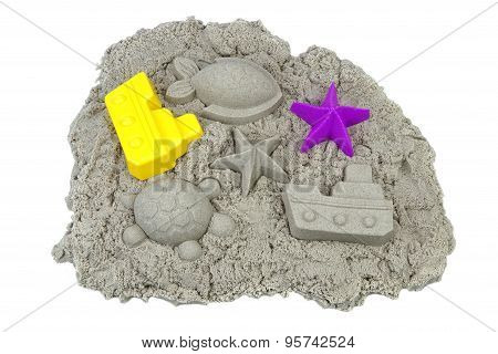 Mold Sand Beach Toy Outdoor Play Game Isolated