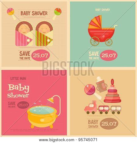 Baby Shower Mini Postes