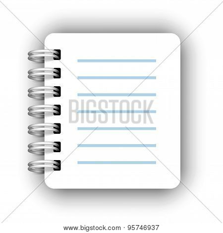 Paper spiral notebooks