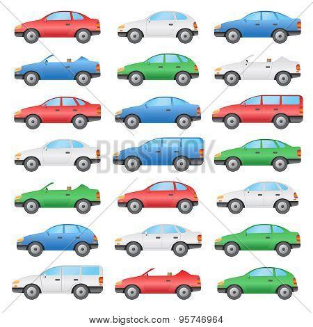 Set Of Cars.