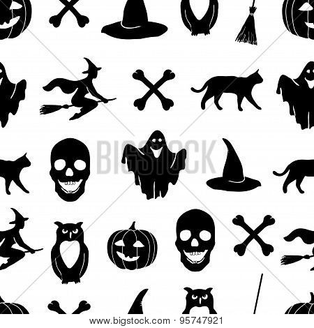Halloween vector background.