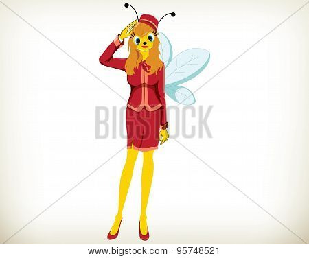 Air Hostess Bee
