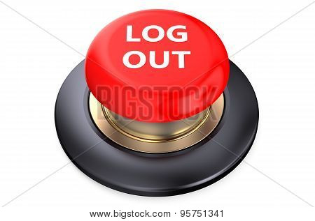 Log Out Red Button