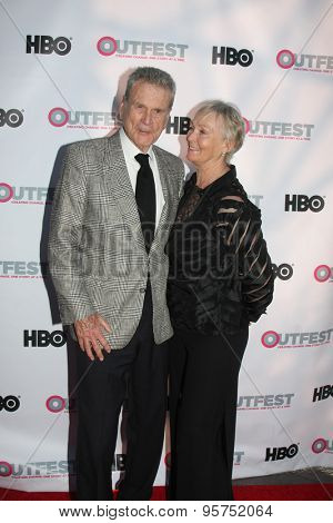 LOS ANGELES - JUL 11:  Don Murray, Betty Murray at the