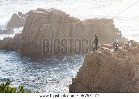 Fishing On The Coast