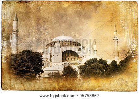 The Blue Mosque, Istanbul,