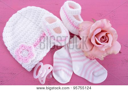 Its A Girl Baby Shower Or Nursery Concept