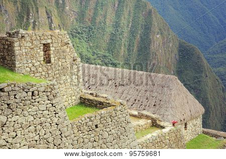 On The Streets Of Machu Picchu.