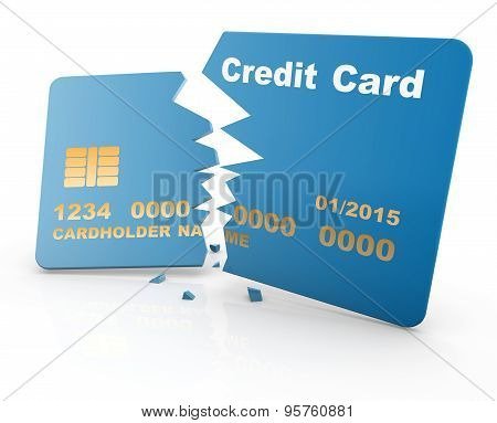 Broken Credit Card