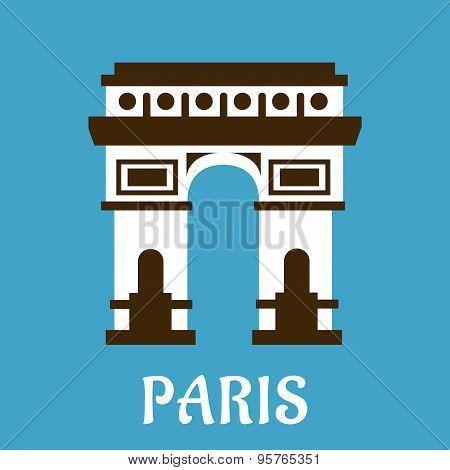 Flat Arch of Triumph icon