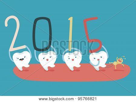Happy new years of teeth