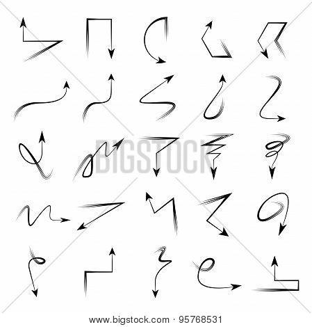 sketch arrows