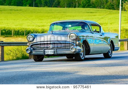 Buick Super Coupe Multicolor 1957