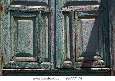 Abstract Door Lanzarote  Door In The Light Green