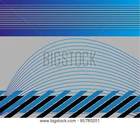 Professional business blue background template
