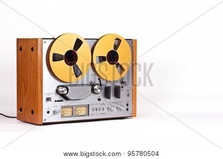 Analog Stereo Open Reel Tape Deck Recorder Player