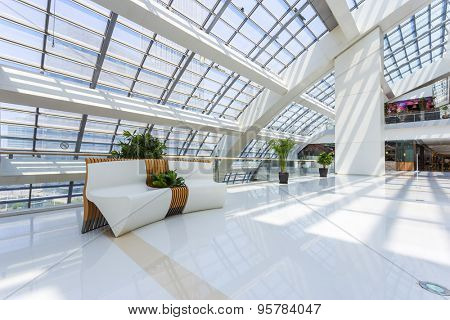 sofa and shopping mall interior