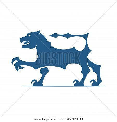 Heraldic Elements. Lion