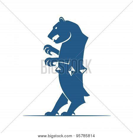 Heraldic Elements. Bear