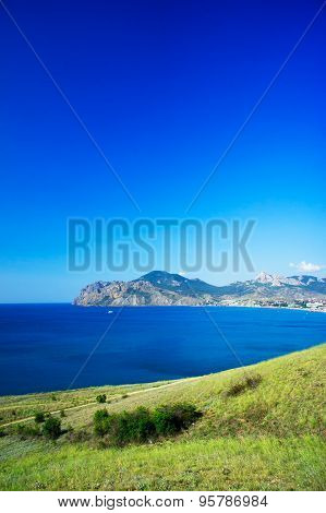 Beautiful Gulf Near Koktebel. Crimea.