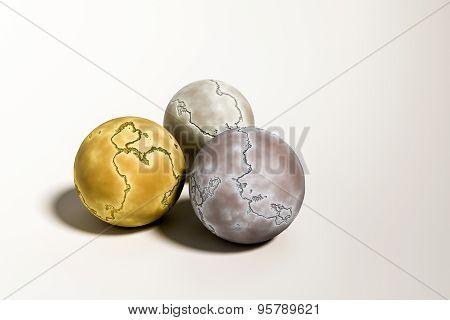 Cracked Balls