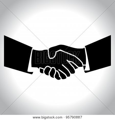 Handshake Black.eps