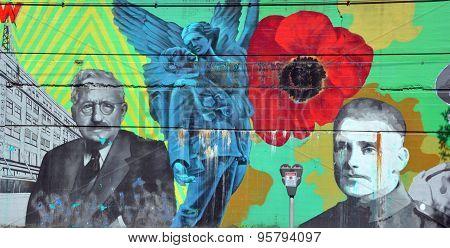 Mural WWI