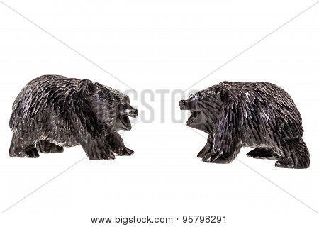 Bear Cubs Figurine