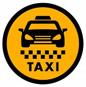 picture of cabs  - cab yellow icon for taxi drive services - JPG