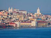 Постер, плакат: Исторический центр города Лиссабон