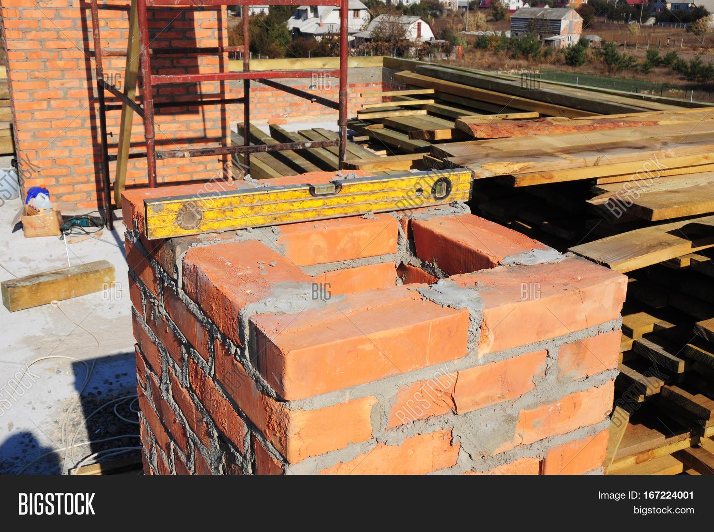 Building Brick Chimney Masonry Image Photo Bigstock