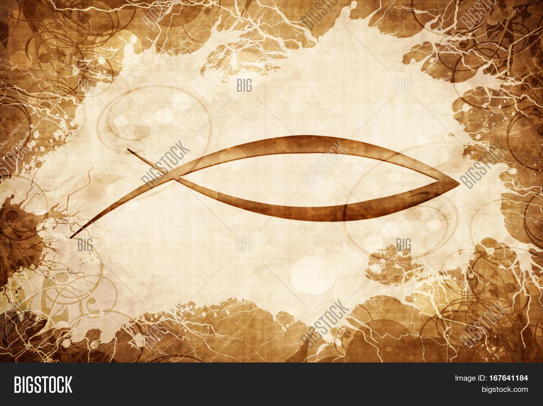 Christian fish symbol wallpaper