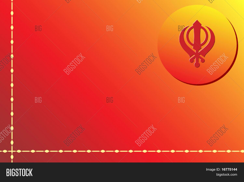 Khanda one most important symbols vector photo bigstock the khanda is one of most important symbols of sikhism alongside the ik onkar ek biocorpaavc